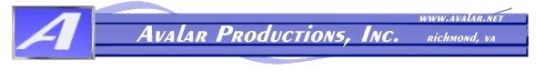 Avalar productions logo
